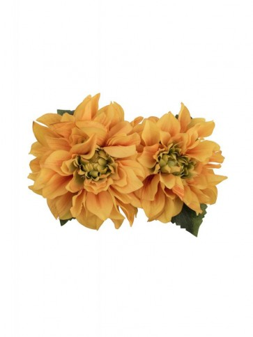 Samantha Hair Flower Yellow