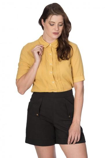 Boxy Textured Shirt