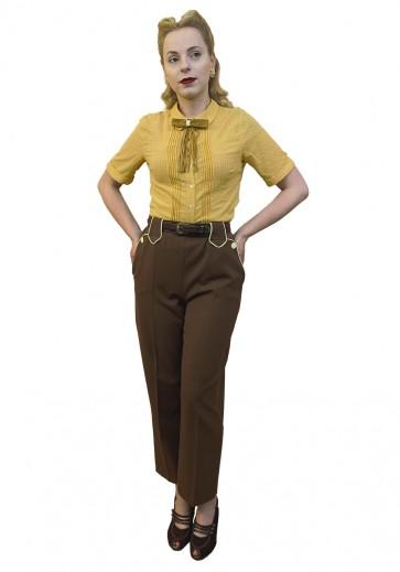 Lily-Mae Western Slacks Brown