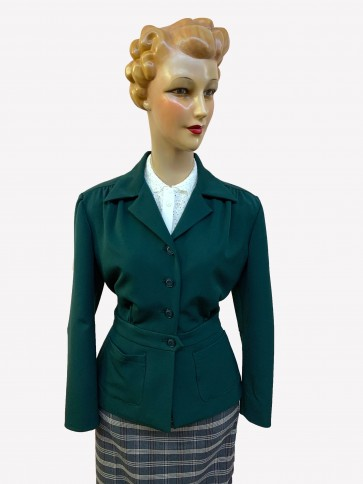 Lindy 1940s Jacket Green