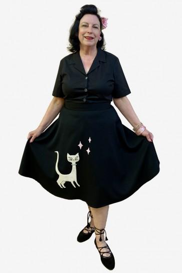 Kitty 50s Swing Skirt