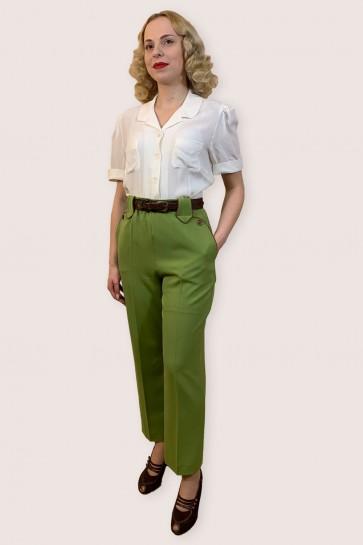 Lily-Mae Western Slacks Green