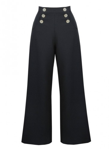 Sailor Slacks Black