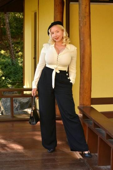 Audrey Trousers Black