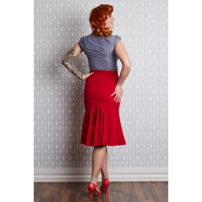 Gillian 1940s Trumpet Skirt