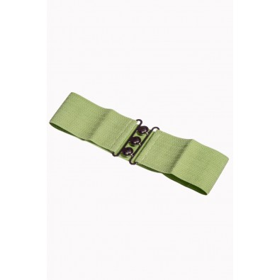 Vintage Stretch Belt Olive