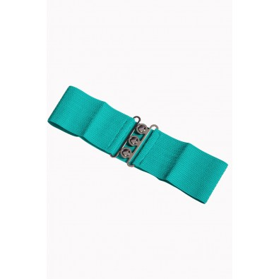 Vintage Stretch Belt Aqua