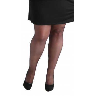 15 Denier Sheer Tights Black