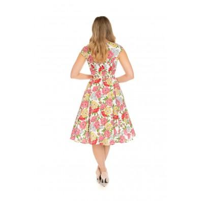 Rosana Floral Swing Dress