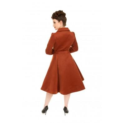 Primrose Caramel Swing Coat
