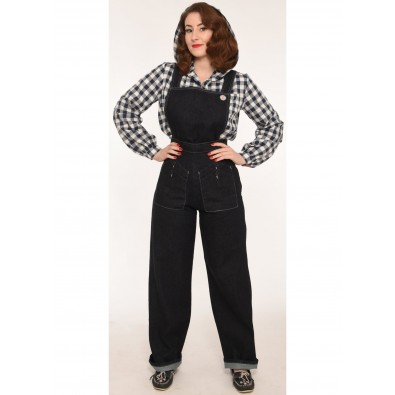 Indigo Home Companion Dungarees Regular Leg