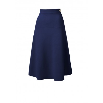 1940s Swing Skirt Navy