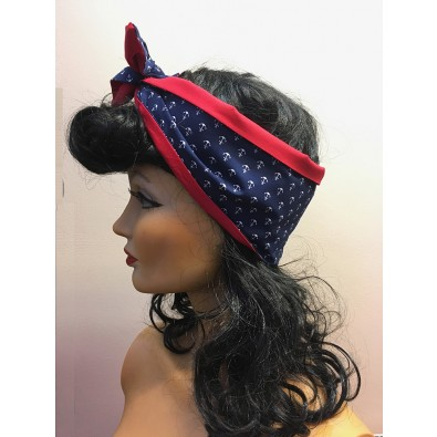 Hairband Anchor/Red
