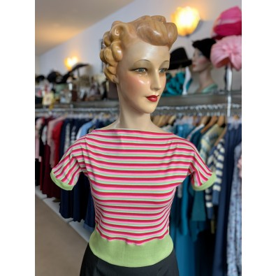 Polly 1950s Top Candy