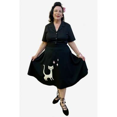 Kitty 50s Swing Skirt