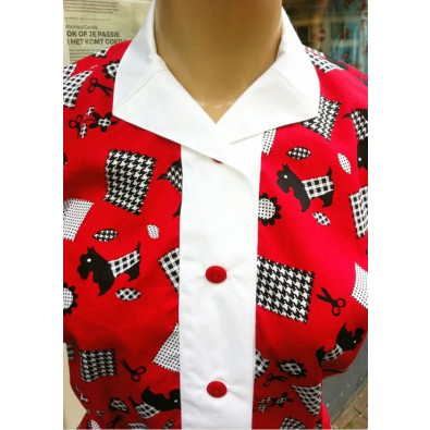 Daisy Scotty Dog Blouse