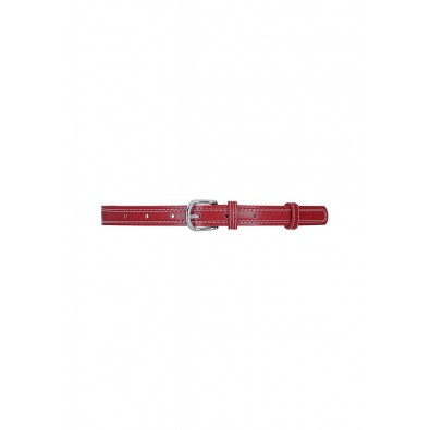 Lynn Thin Belt Red