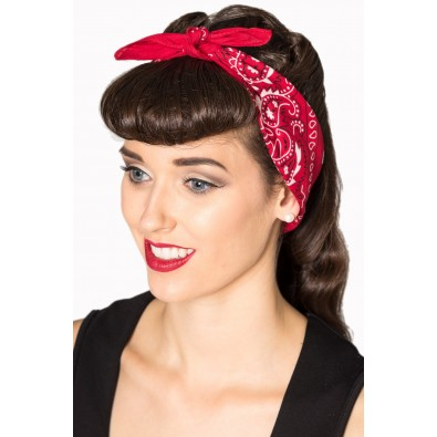 Lysia Bandana Red