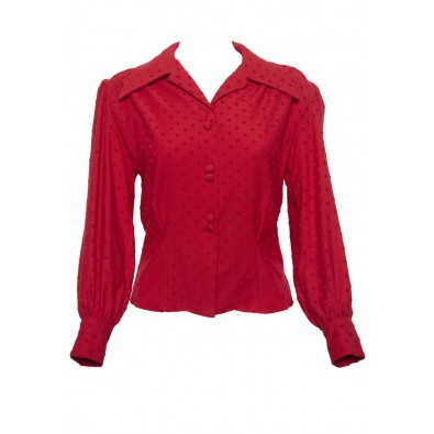 Red Spellbound Blouse