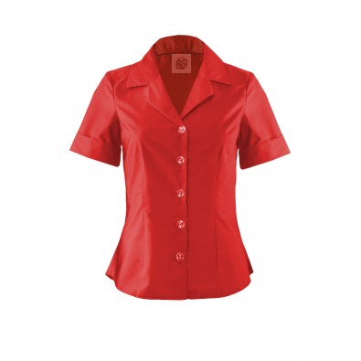 Rizzo Blouse Red
