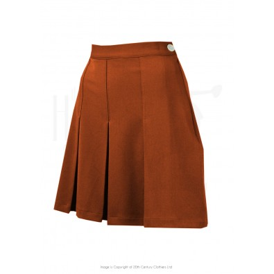 1930s Pleated Shorts Rust