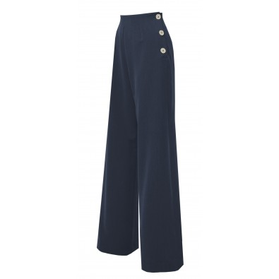 1940s Swing Pants Navy