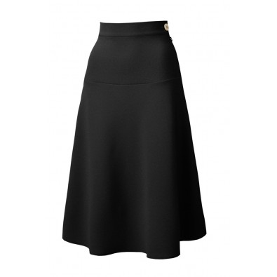 1940s Swing Skirt Black