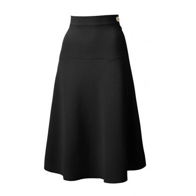 1940s Swing Skirt Black