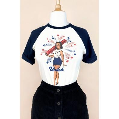 United Short Raglan T-shirt
